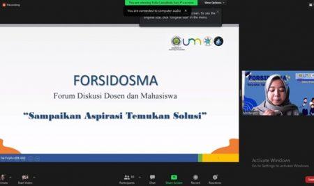 """FORSIDOSMA 2021 """"Sampaikan Aspirasi, Temukan Solusi"""""""